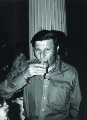 Peter Hilton in [[Nice]] in 1970