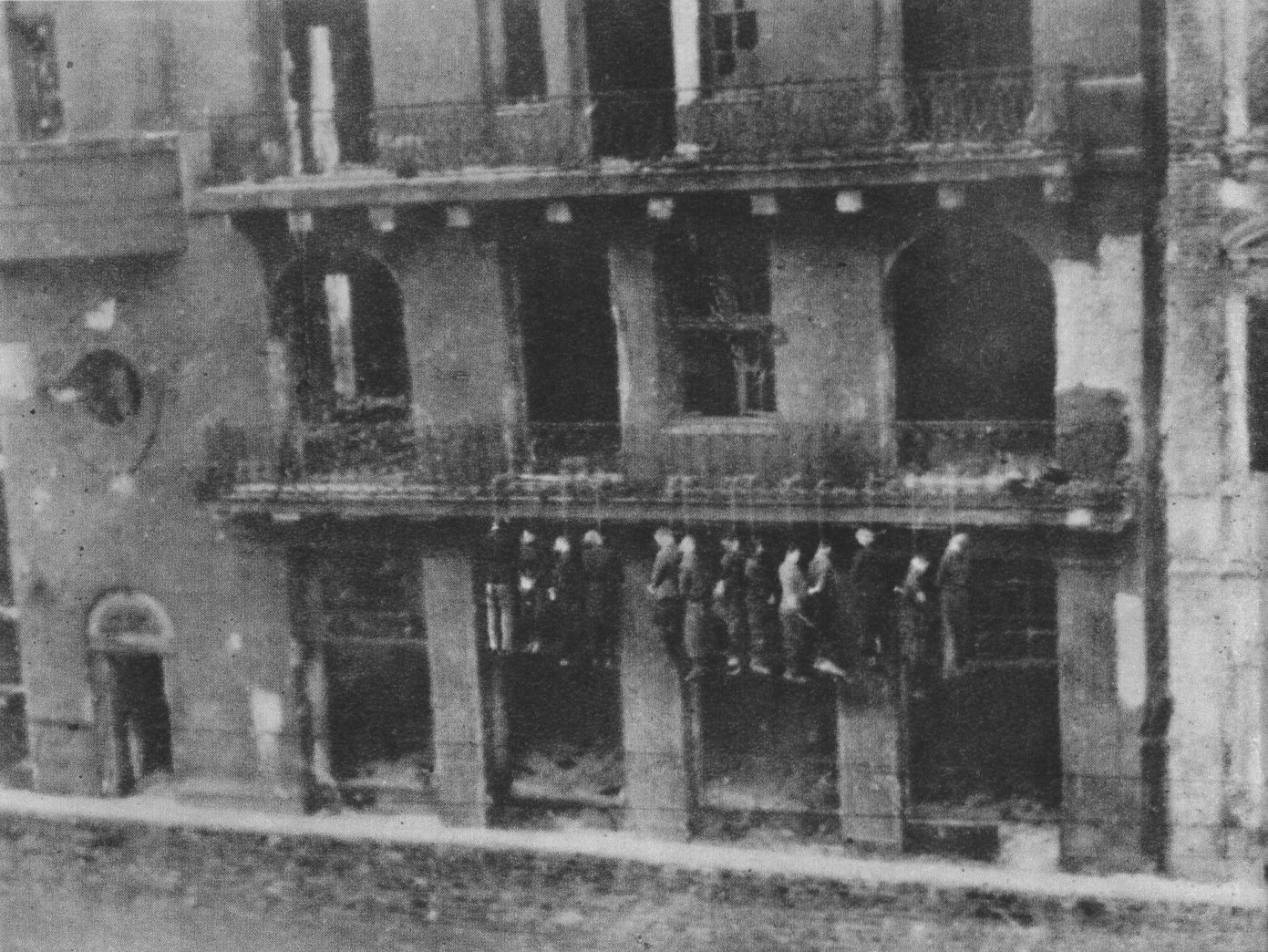 File Polish Hostages Hanged By German Occupants At Leszno
