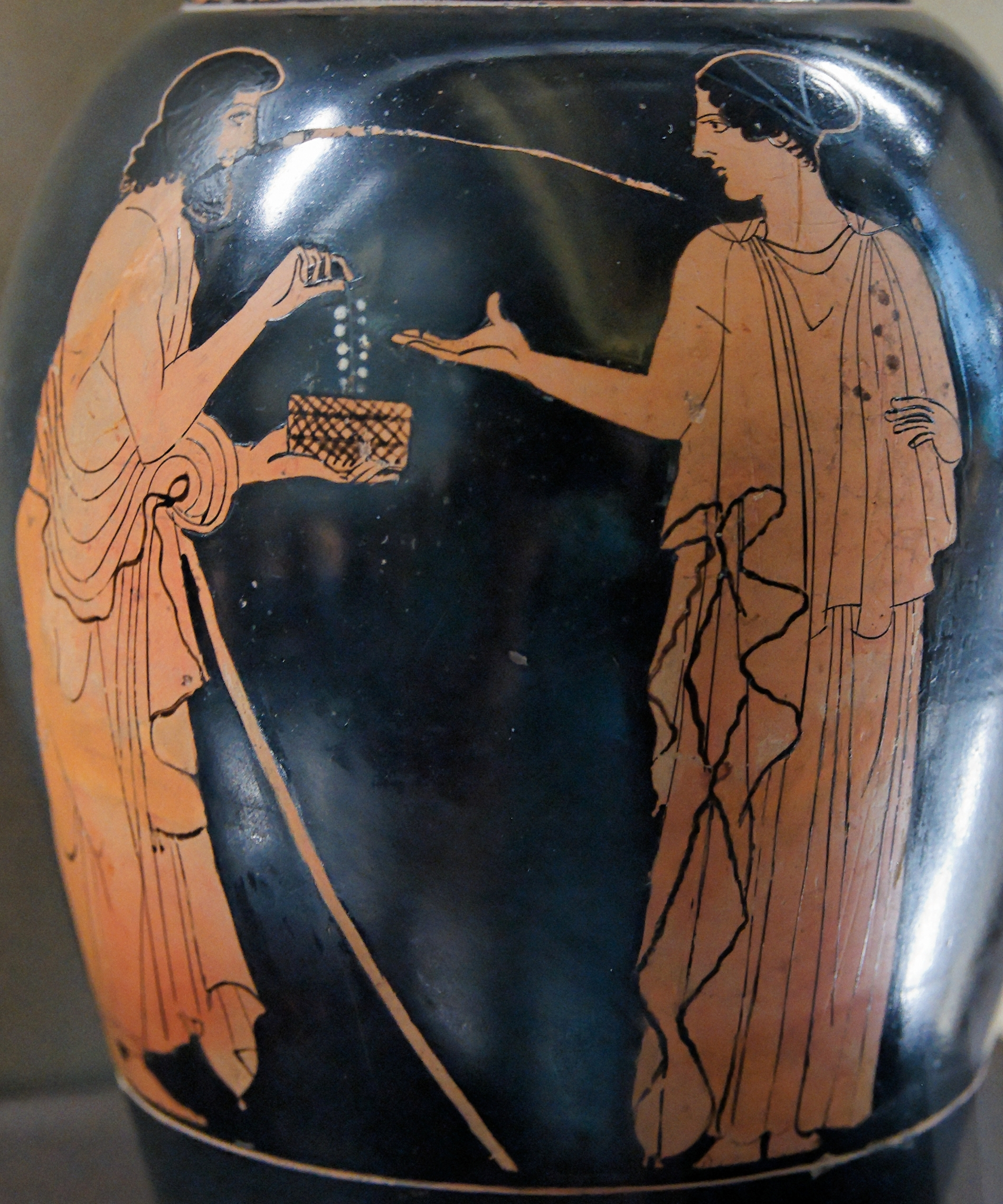 Image result for Alcmaeon ancient greek thebes