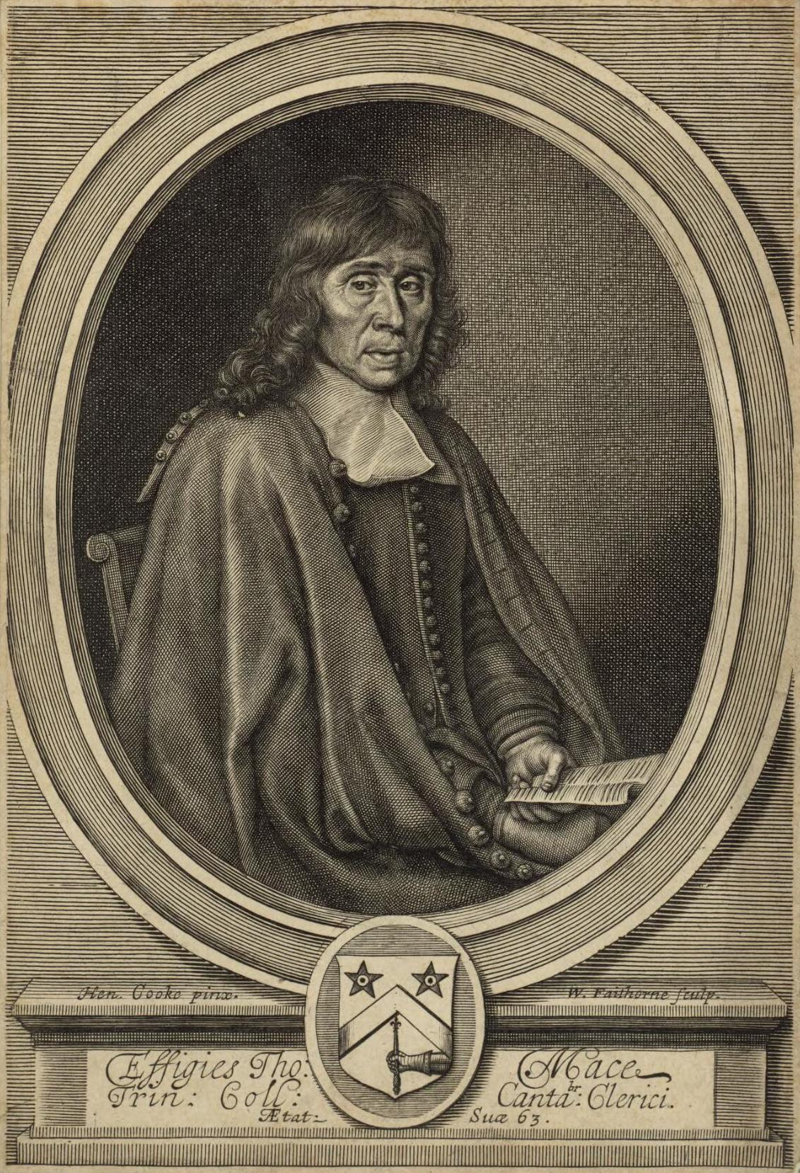 Portrait of Thomas Mace
