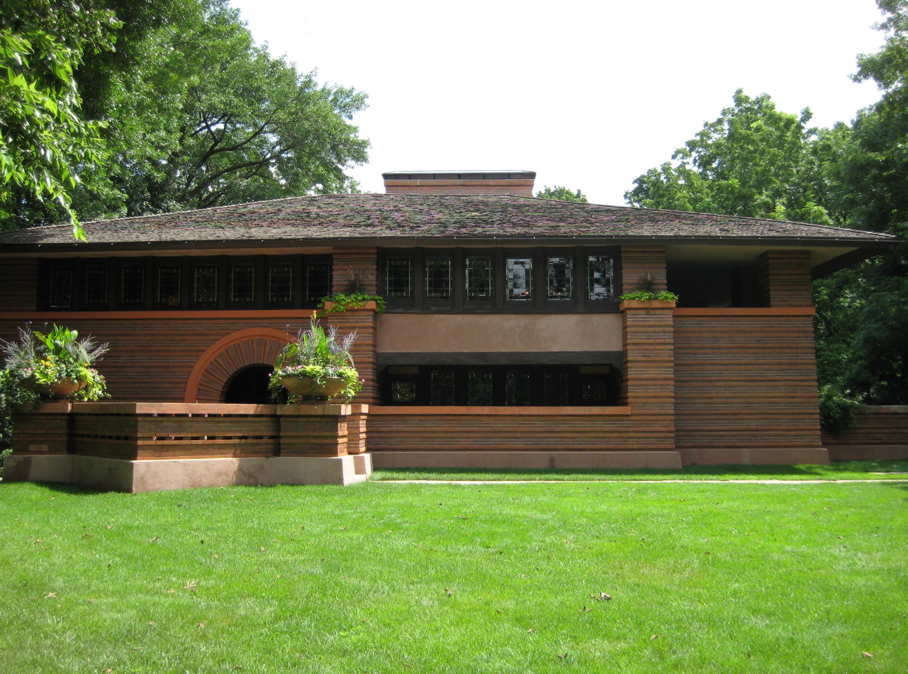 File:Prairie School Style Home.JPG - Wikimedia Commons