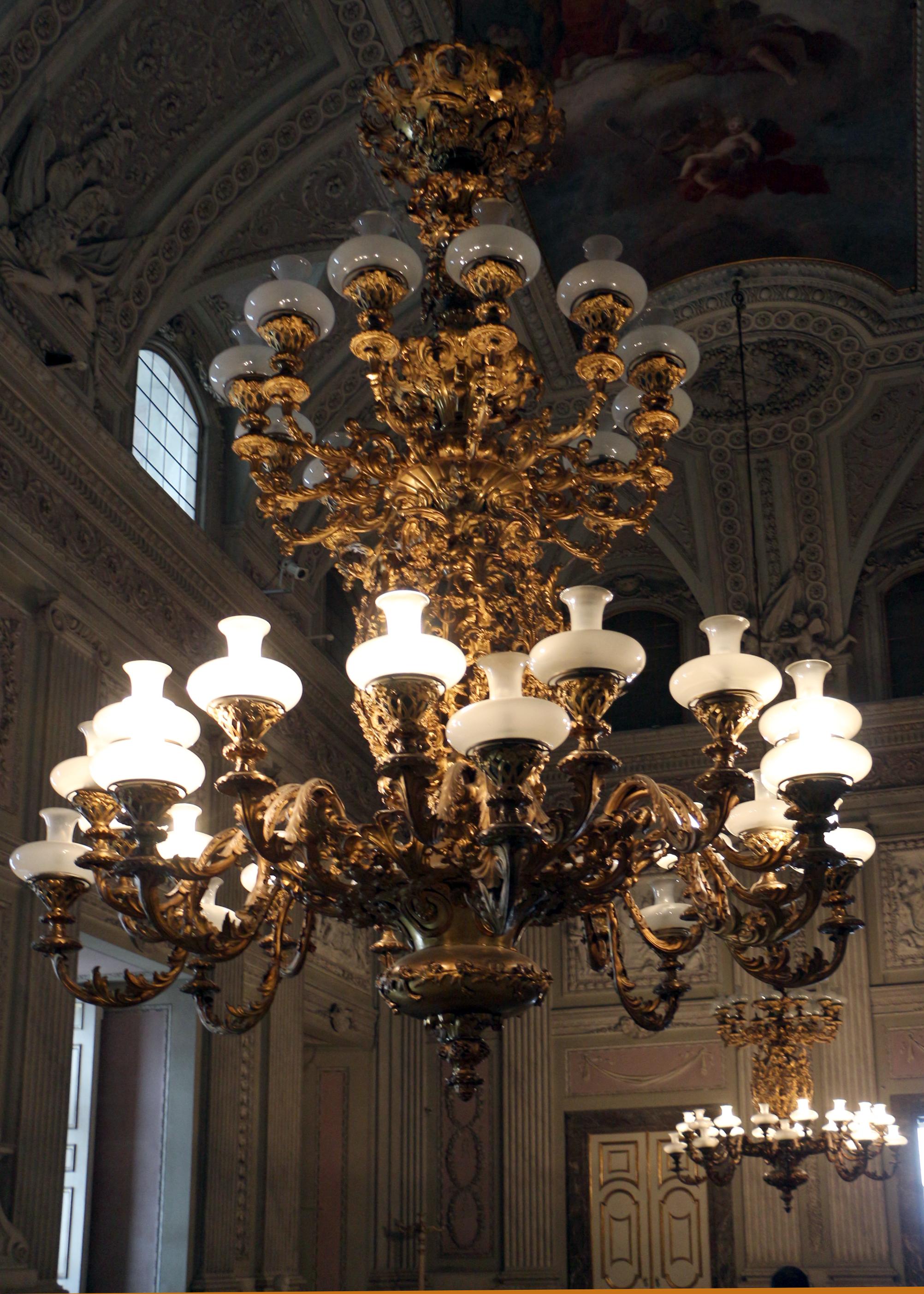 lampadario bronzo : ... corpo, lampadario in bronzo dorato, xix secolo.JPG - Wikimedia Commons