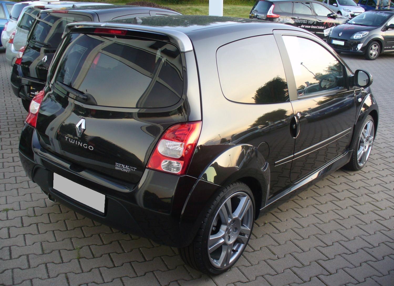 File Renault Twingo Ii Phase I Rs 1 6 16v Perlmuttschwarz Heck Jpg