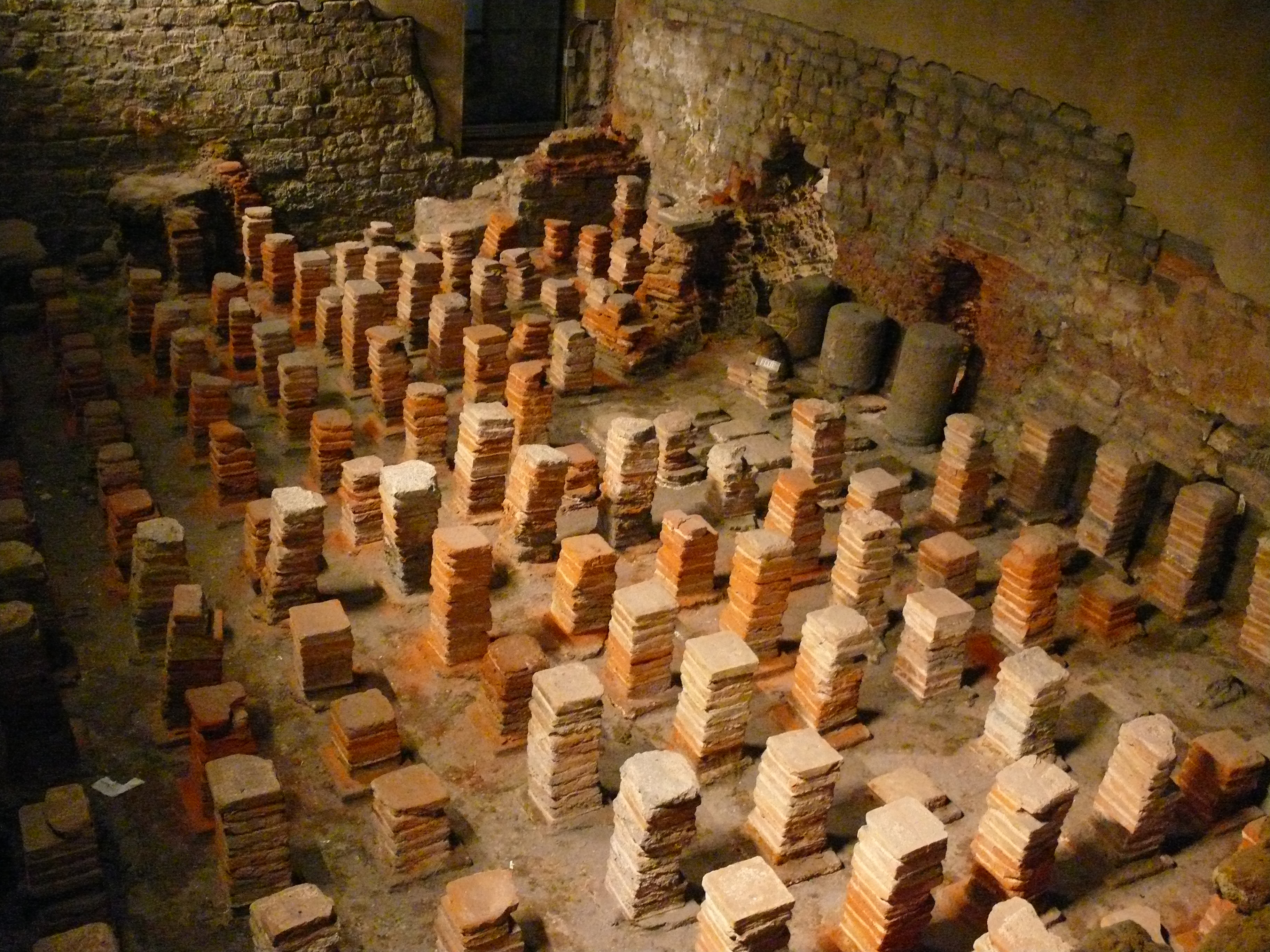 Classical Archaeology Thermae Of Pompeii