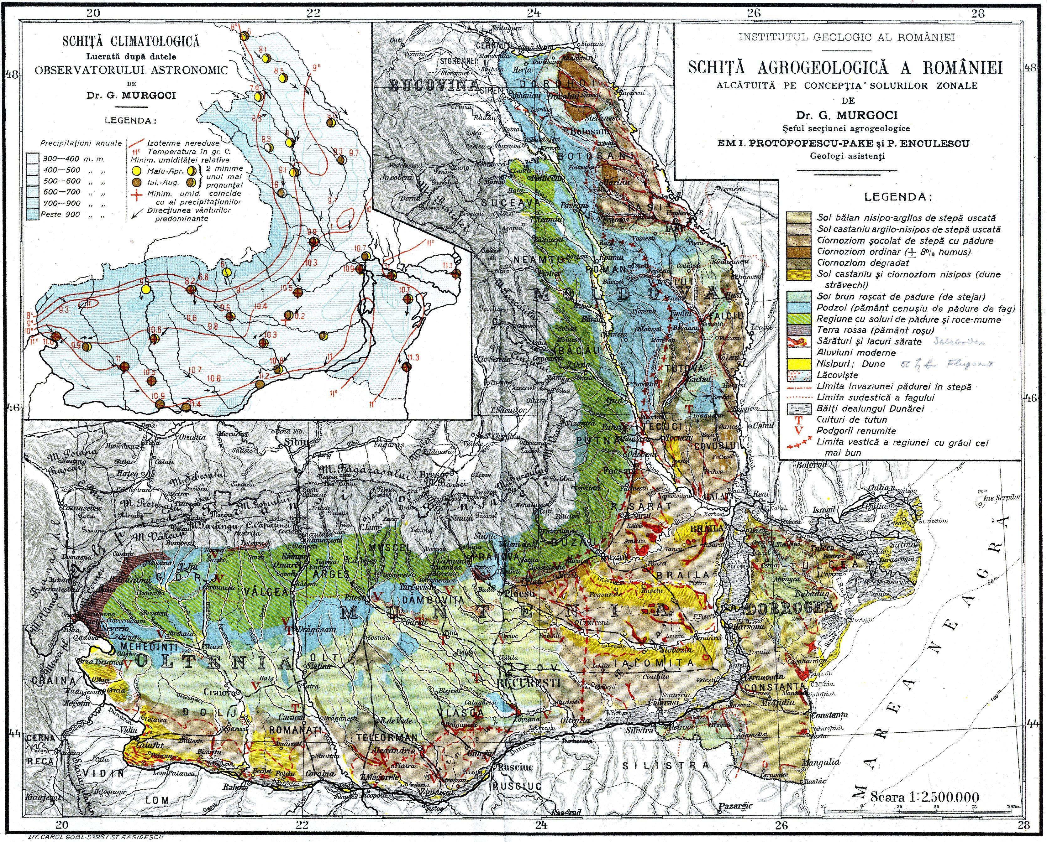 Fișier Romania Soluri Si Clima Gheorghe Murgoci Jpg Wikipedia