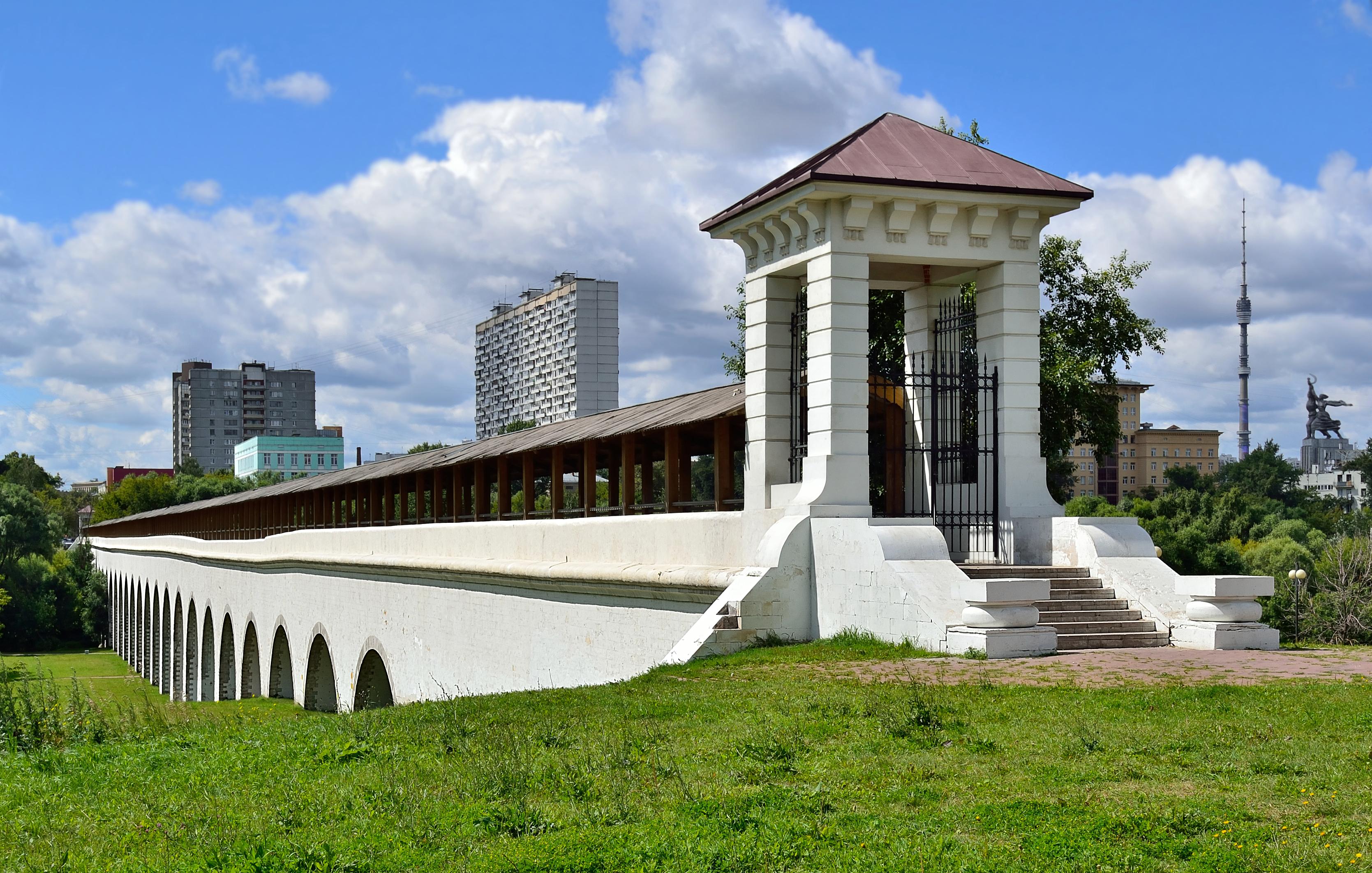 Aquädukt in Rostokino
