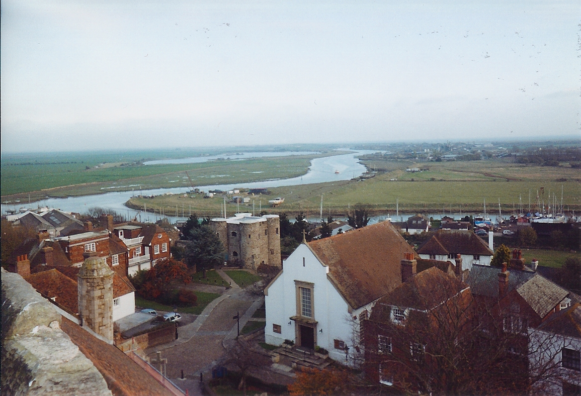 Dallington United Kingdom  city images : The Ypres tower, Rother, Rye Harbour and marshes seen from the tower ...