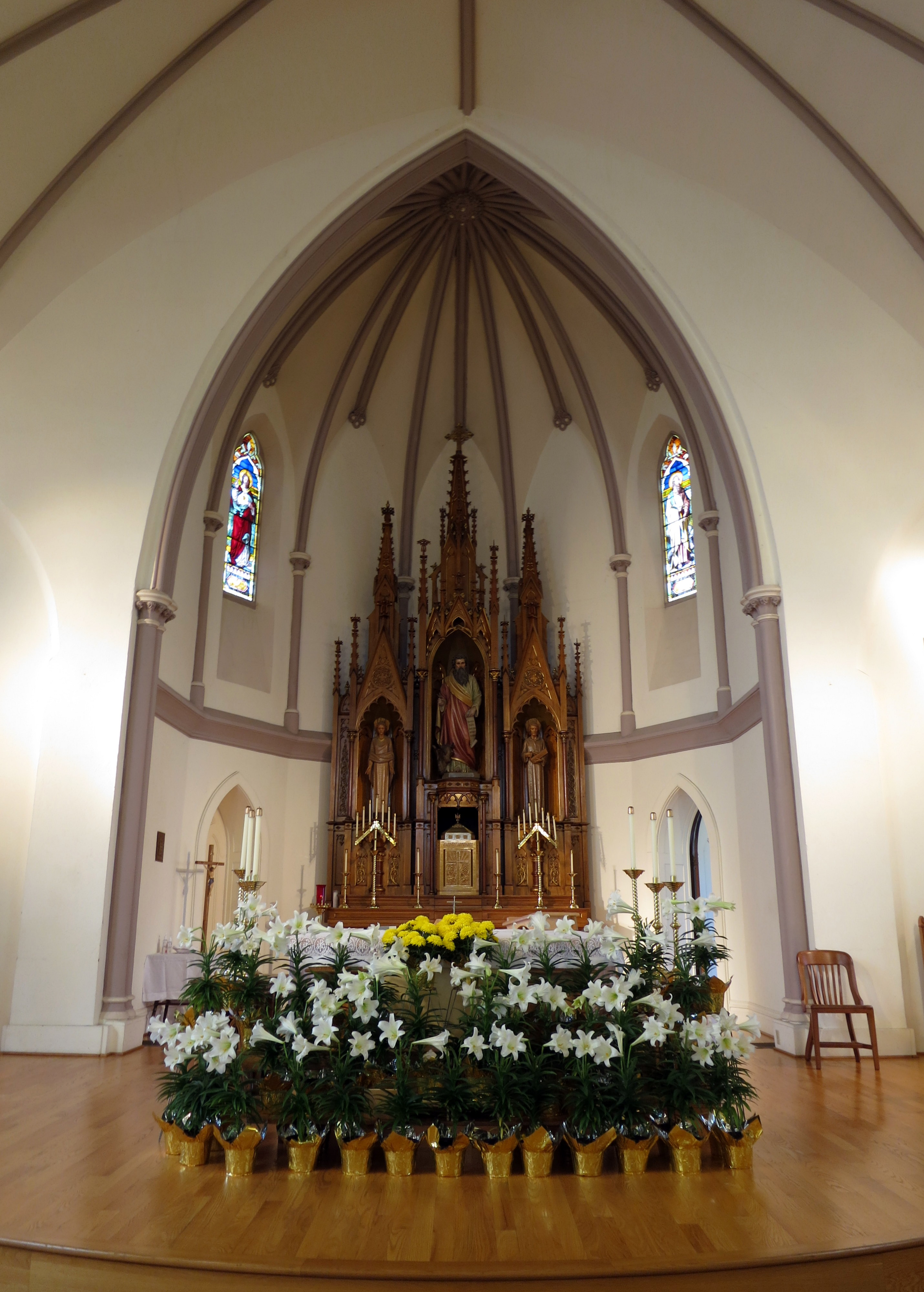 File:Saint Luke Catholic Church (Danville, Ohio ...