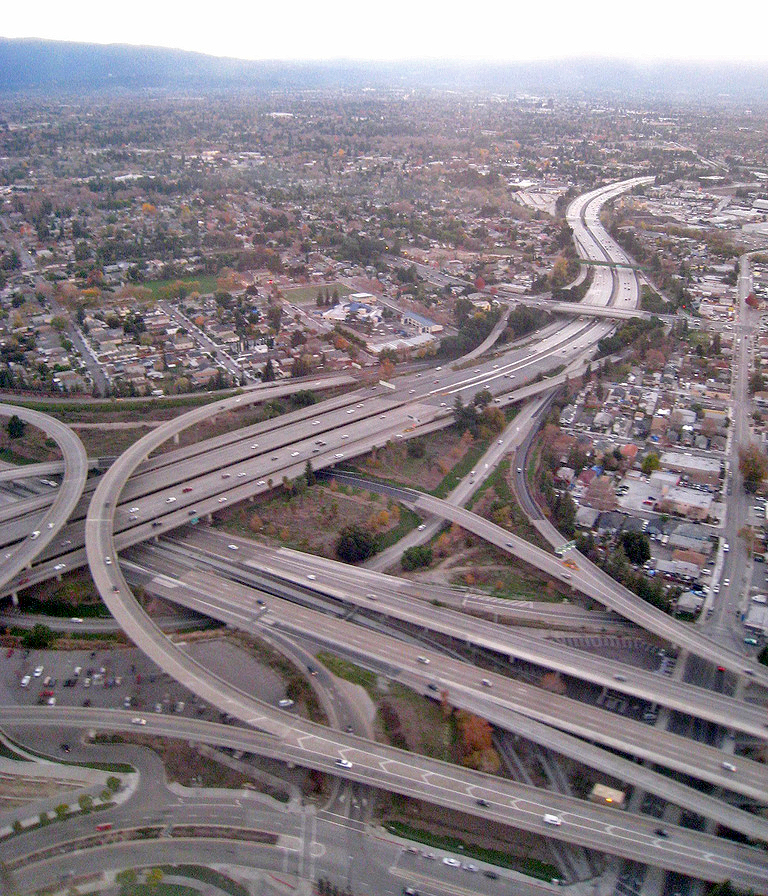 ... :San Jose Freeway Interchange.jpg - Wikipedia, the free encyclopedia