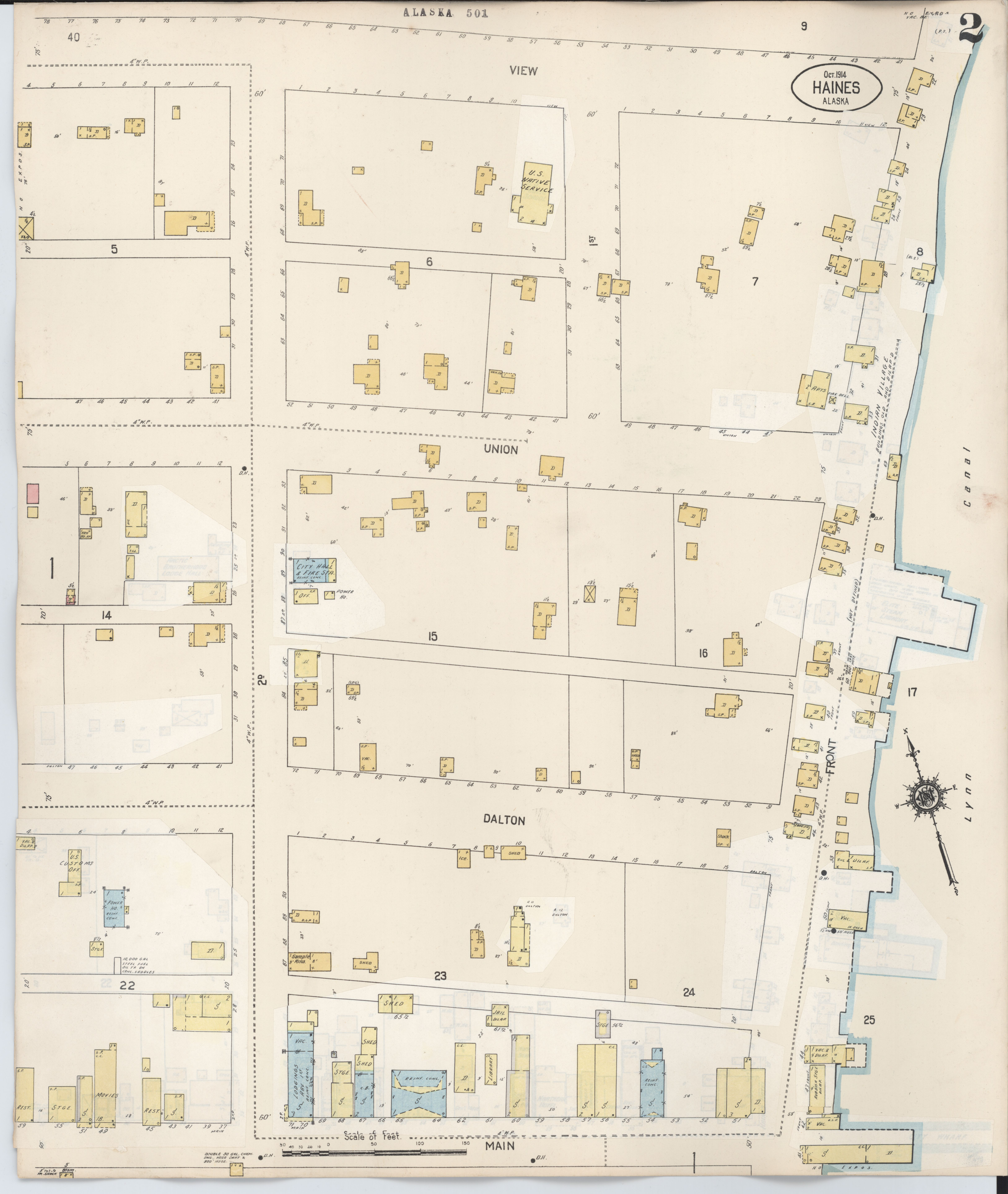 File Sanborn Fire Insurance Map From Haines Haines Census Division