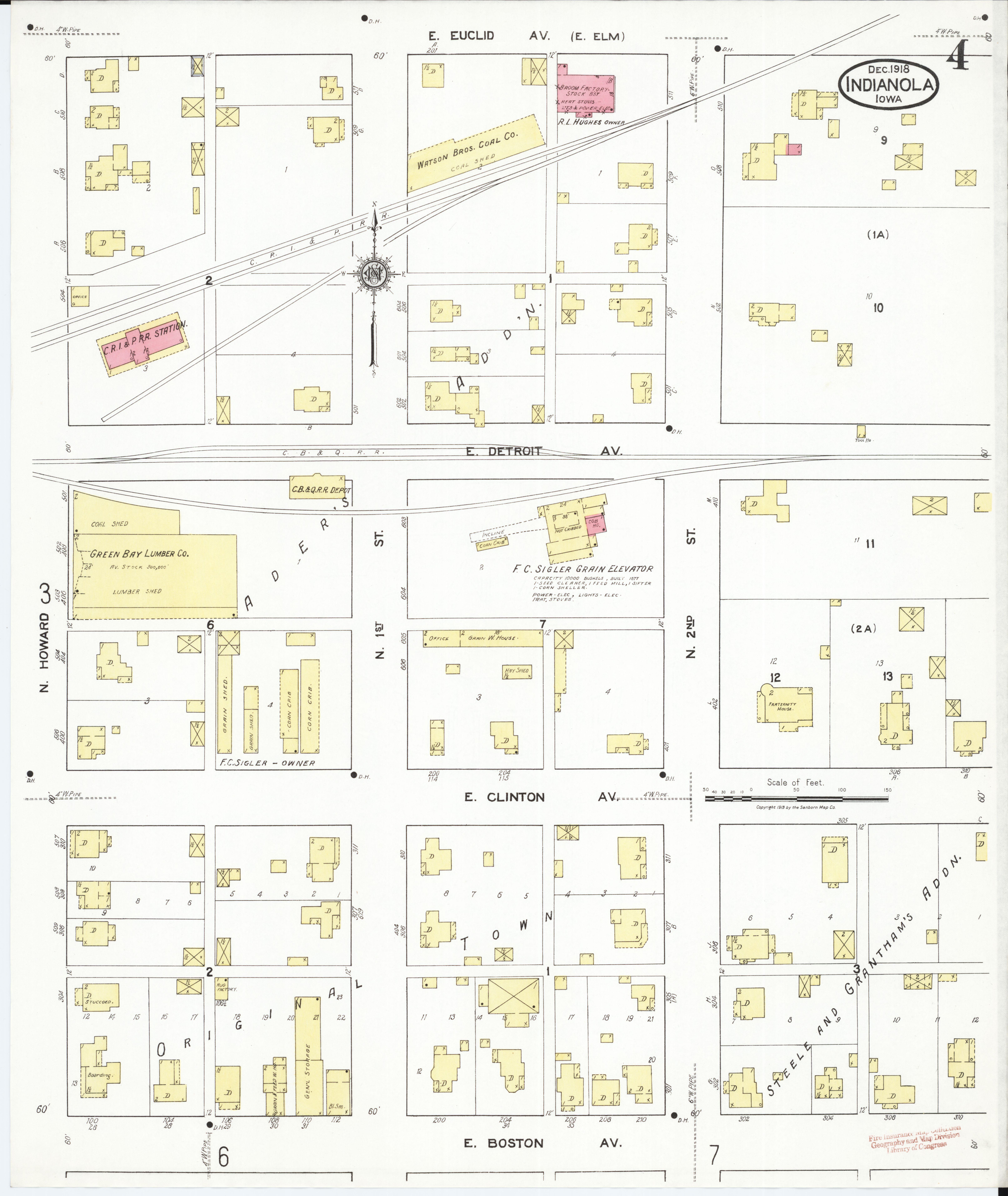 Warren County Iowa Map.File Sanborn Fire Insurance Map From Indianola Warren County Iowa