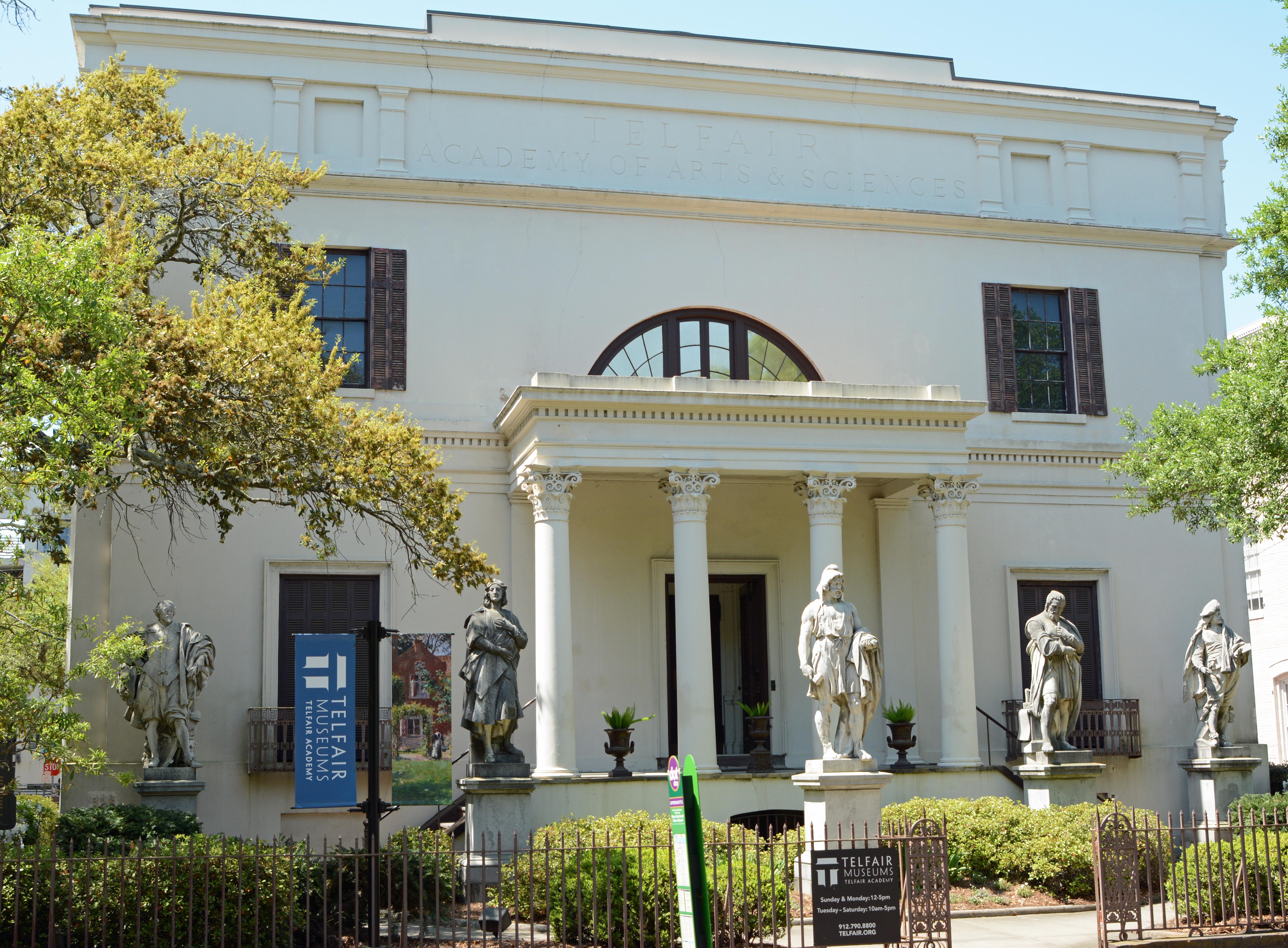 Savannah, GA USA Telfair Academy.JPG