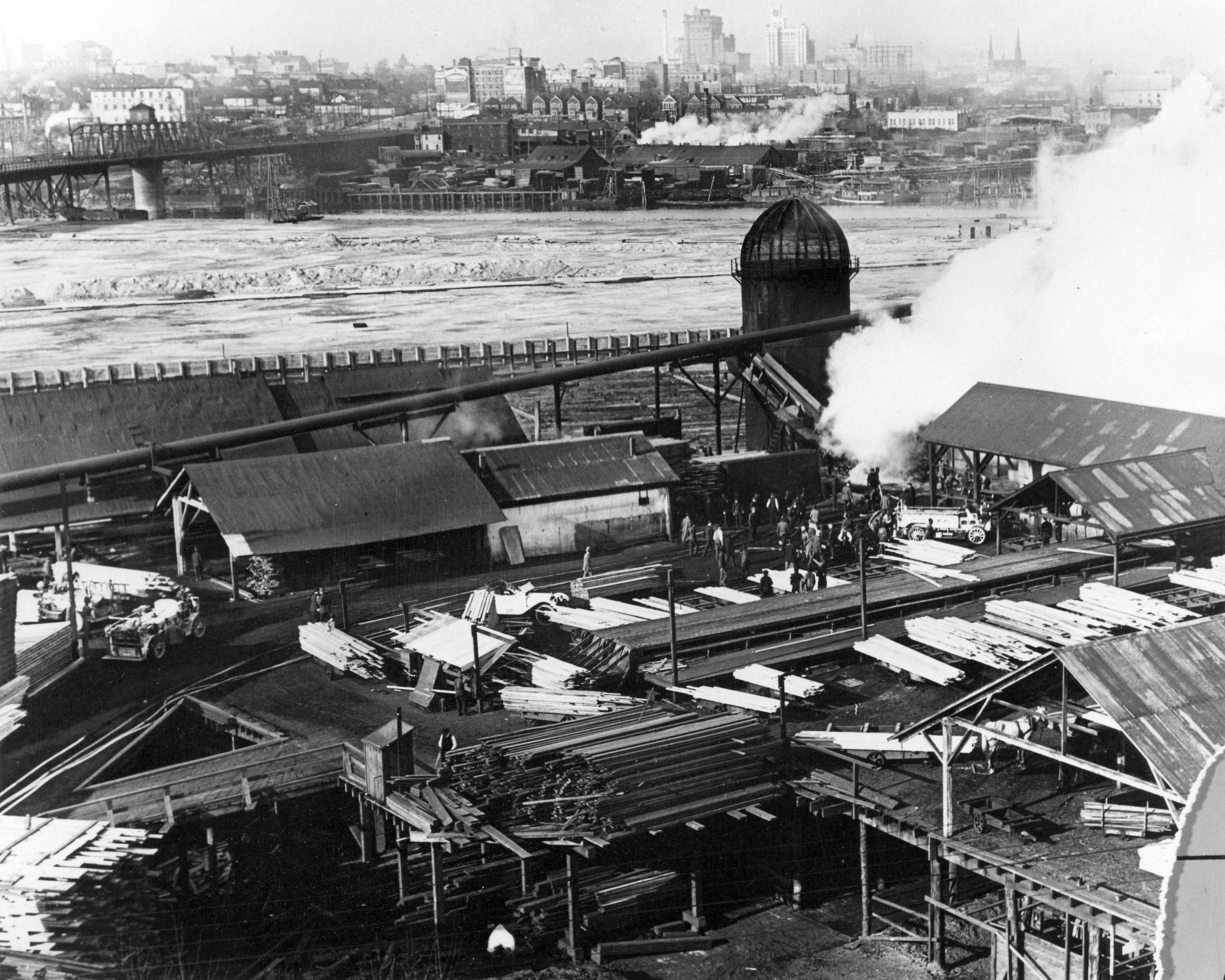 File Sawmill At Granville Island Vancouver Wikimedia Commons