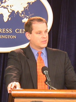 Sean McCormack, National Security Council Spokesman.jpg