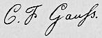 Signature Carl Friedrich Gauß.PNG
