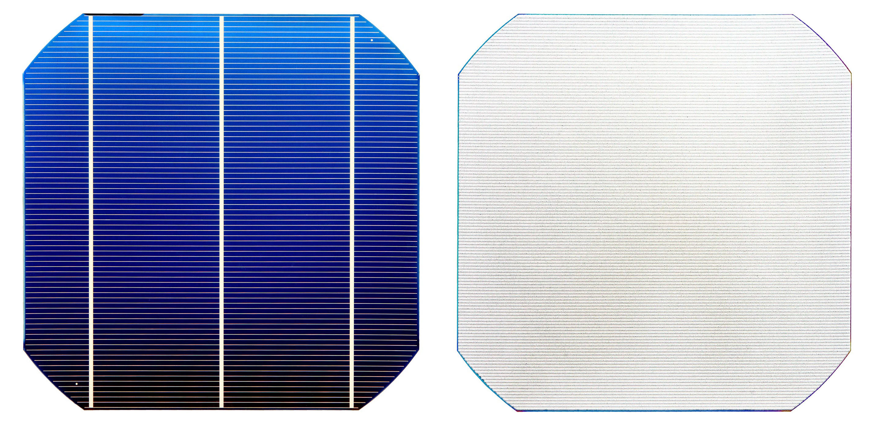 File:Silicon solar cell (PERC) front and back.jpg - Wikimedia Commons
