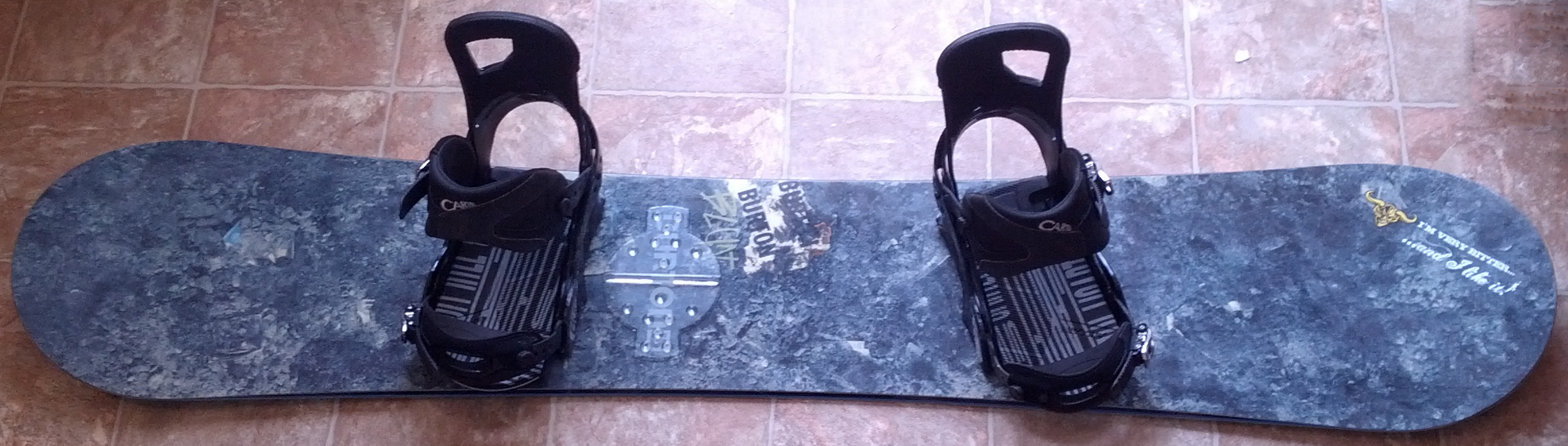 File:Snowboard with Strap-In Bindings and Stomp Pad.png ...