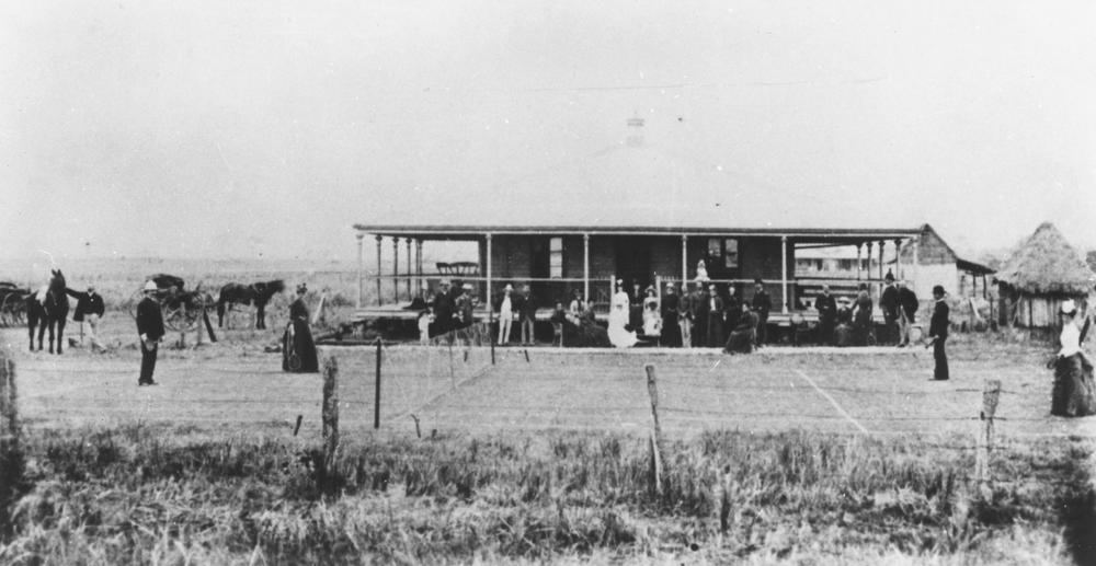 File:StateLibQld 1 293127 First tennis match in Townsville ...