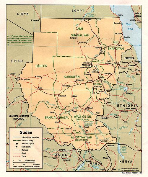FileSudan political map 1994jpg Wikimedia Commons