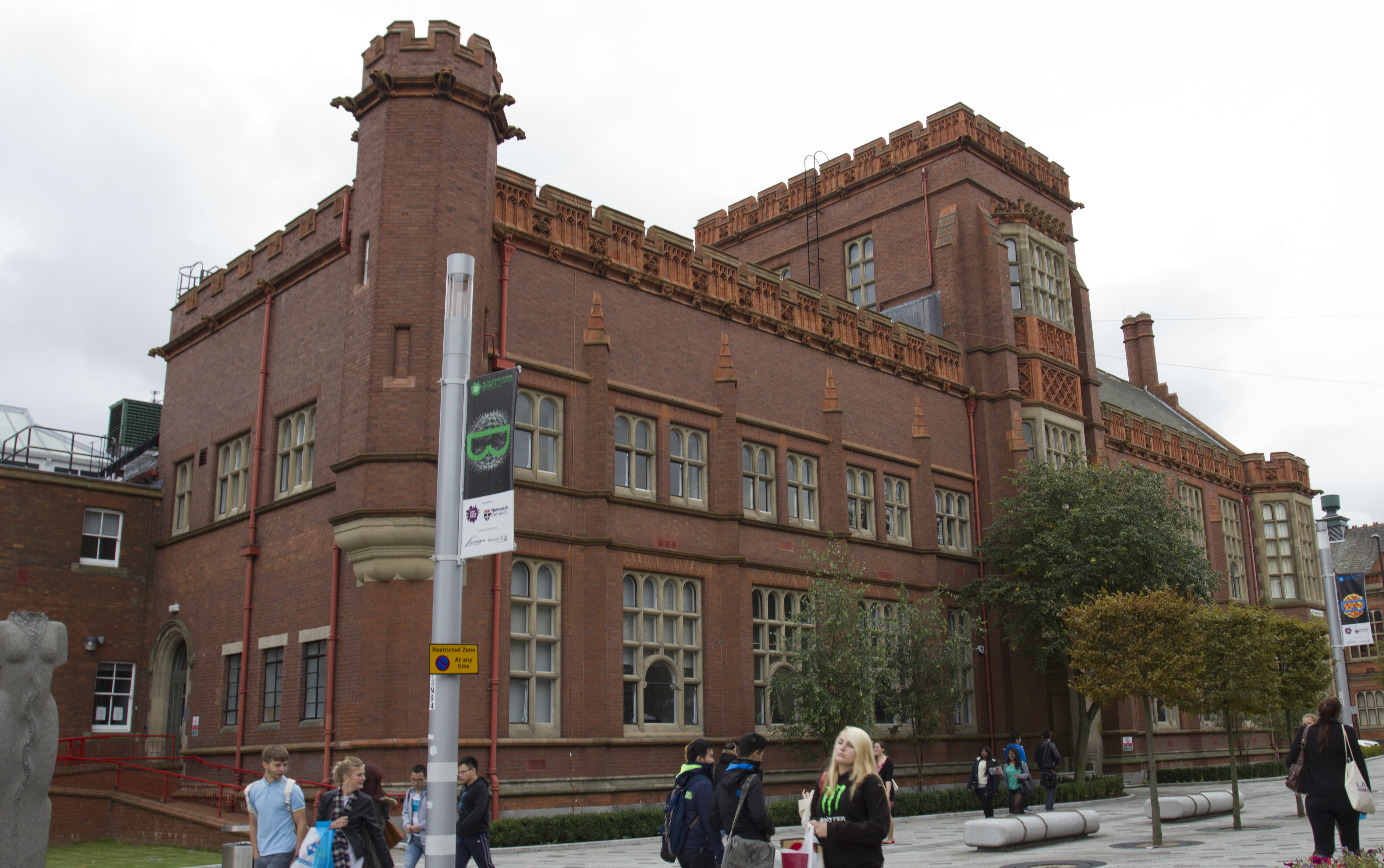 Sutherland Building Northumbria University Postcode