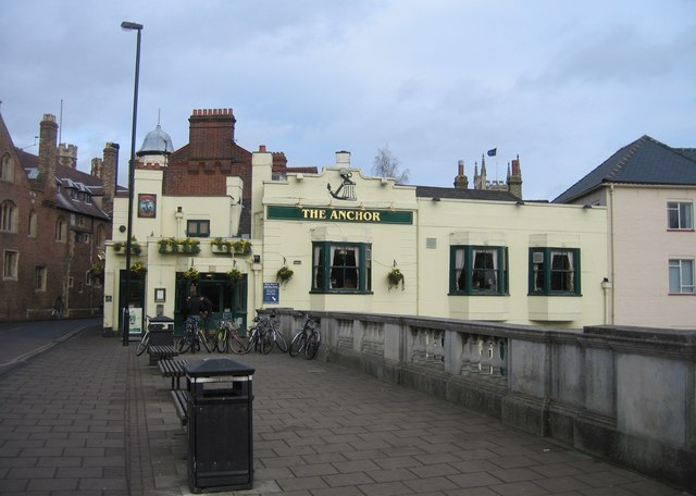 Creative Commons image of The Anchor in Cambridge