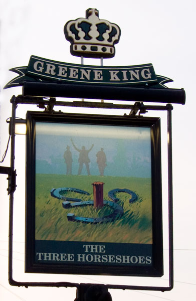 The Three Horseshoes Hinxworth - geograph.org.uk - 1213501