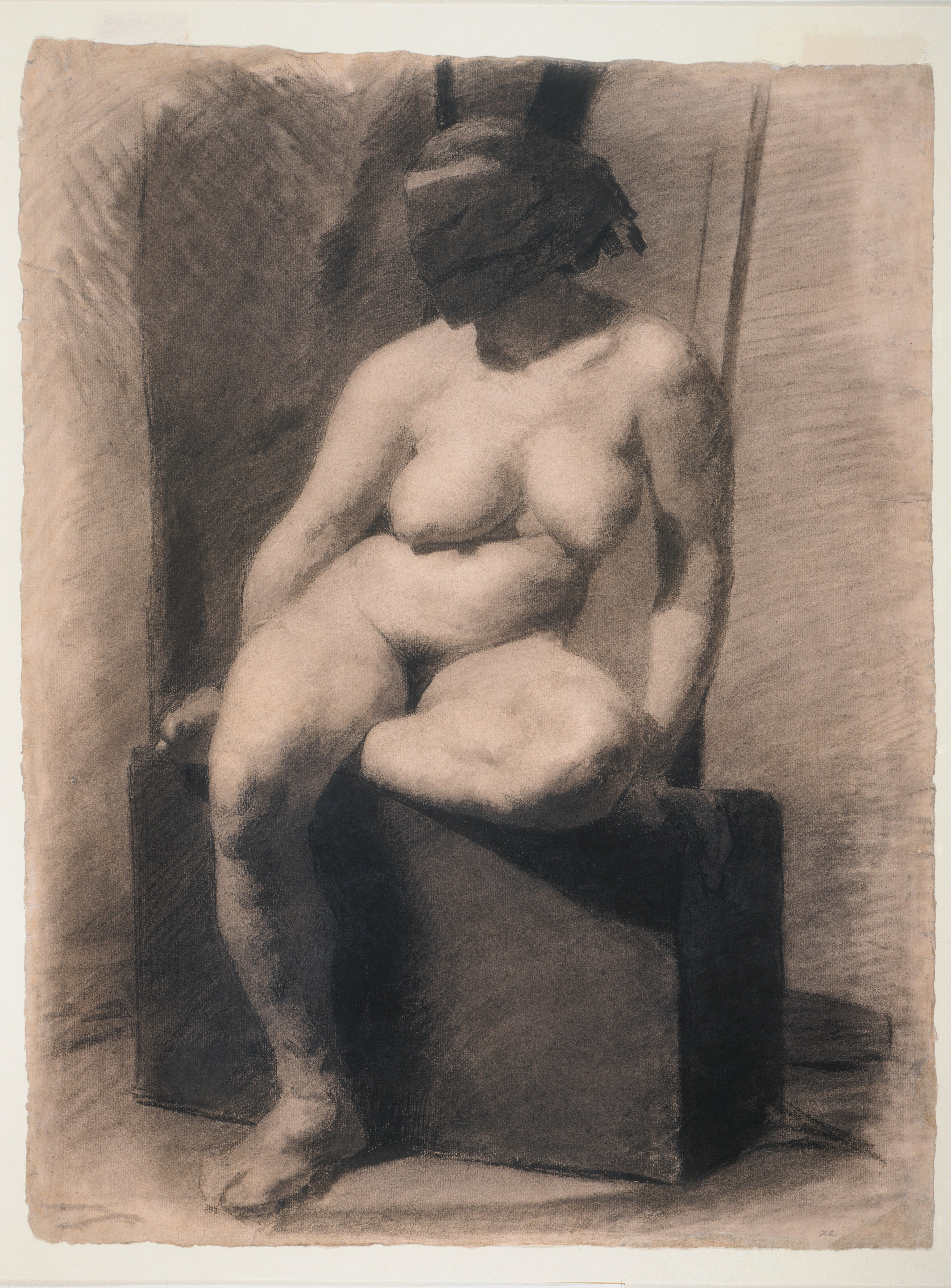 Study of a Female Nude Getty Museum