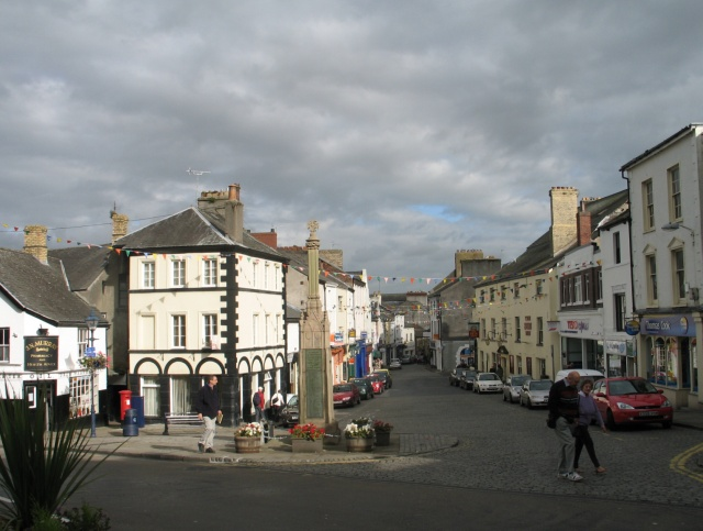 File:Town Square at Ulverston - geograph.org.uk - 1513705.jpg