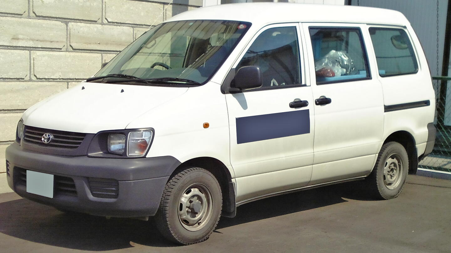 toyota liteace van new 2012 model export from japan import