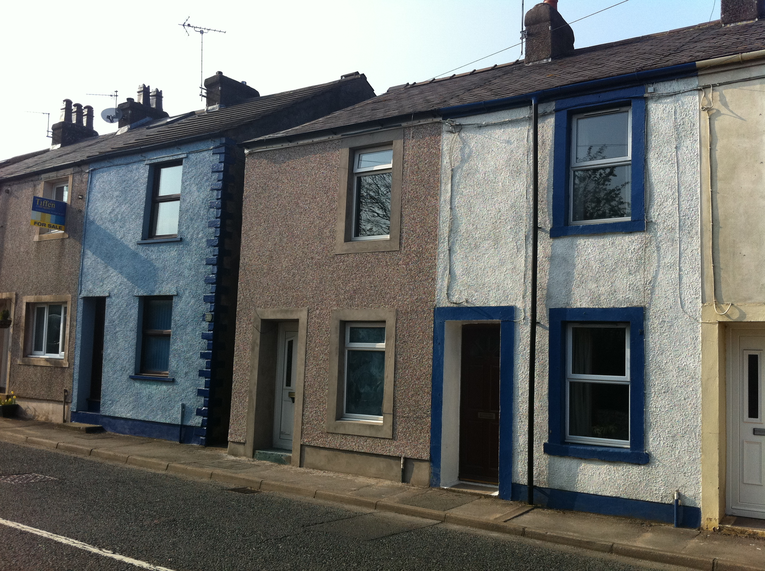 File typical terraced houses rowrah road rowrah jpg for Whats a terraced house
