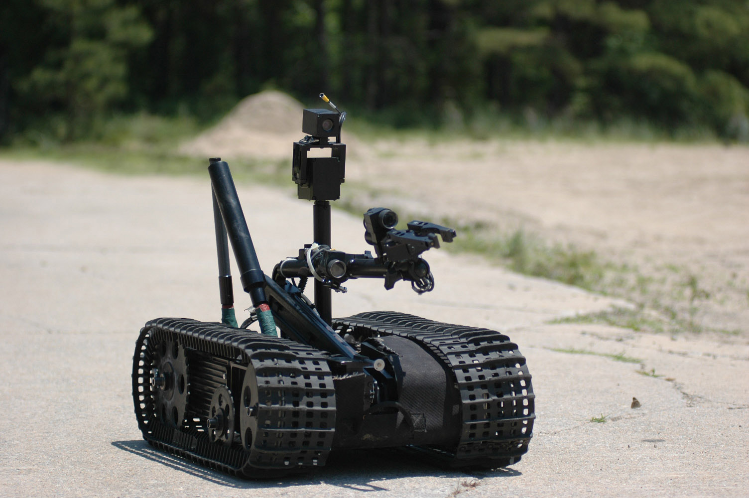 Image result for bomb disposal robot
