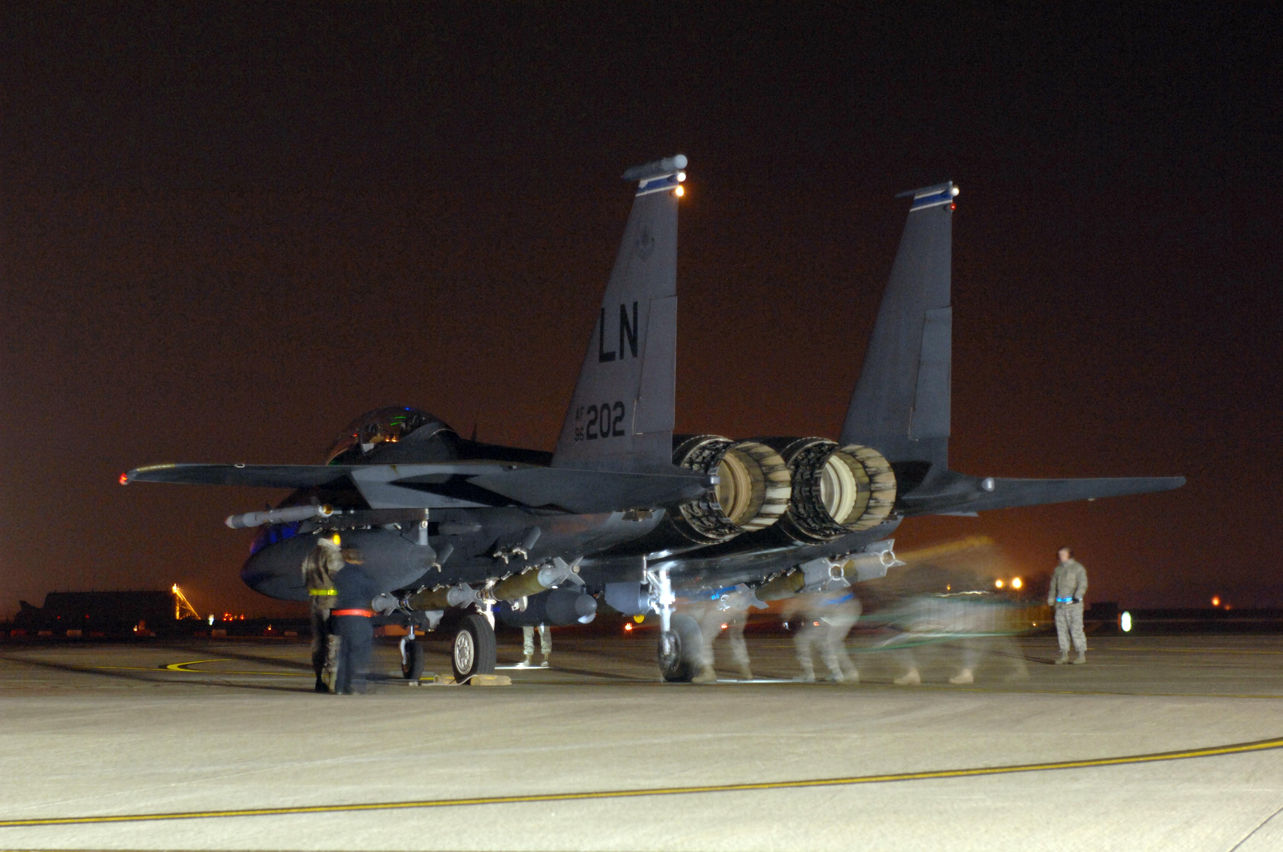 F 15e Libya