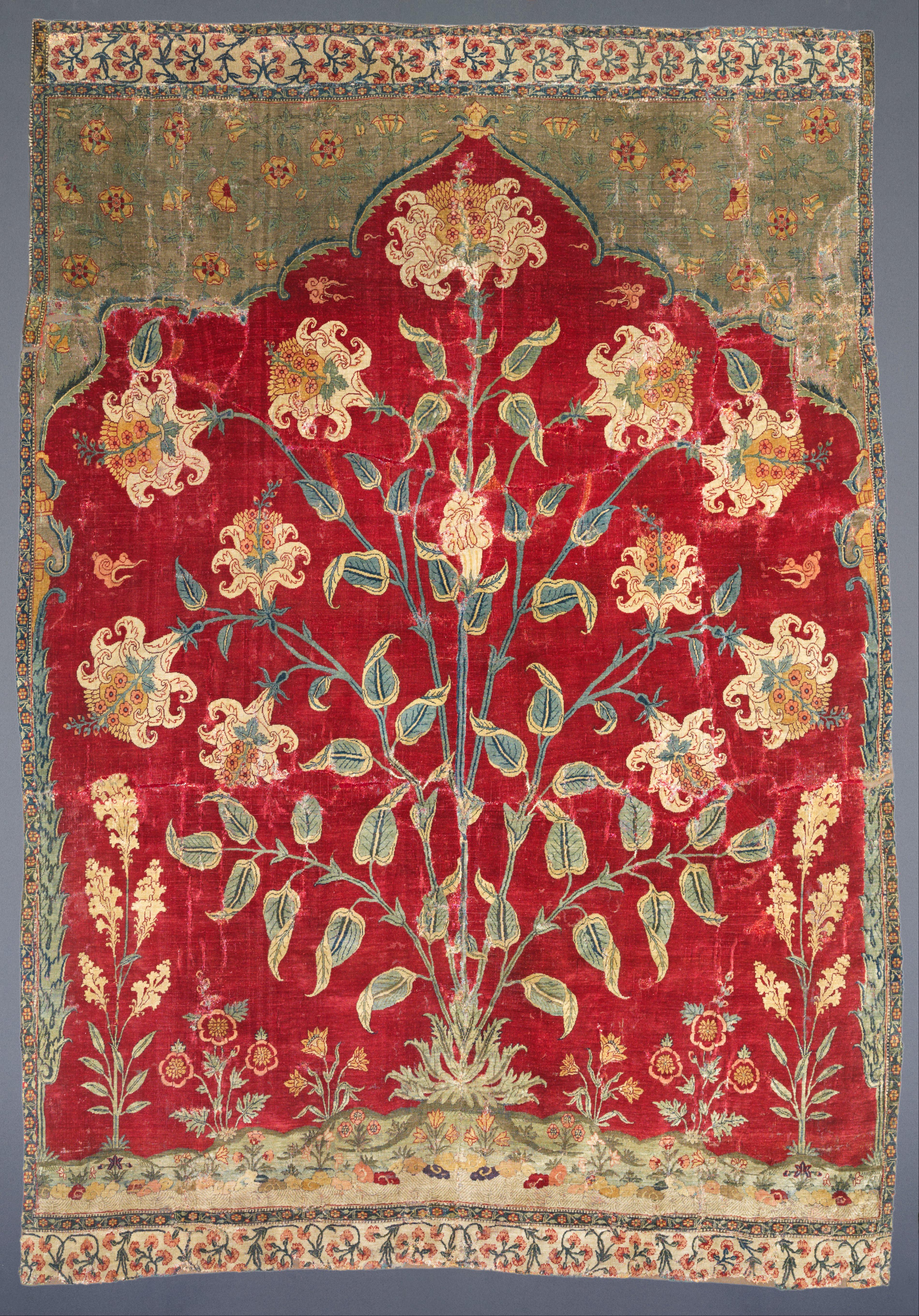 File Unknown India Fragment Of A Saf Carpet Google