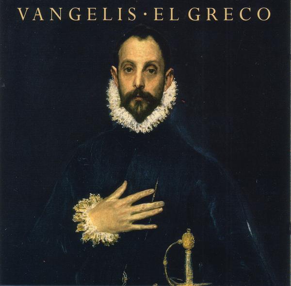 Portada del álbum El Greco de Vangelis (1998)