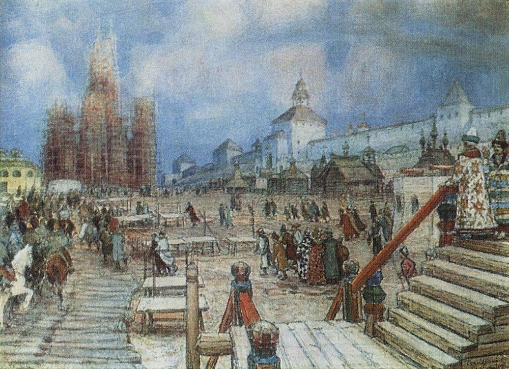 архитектура 17 века картинки с названиями