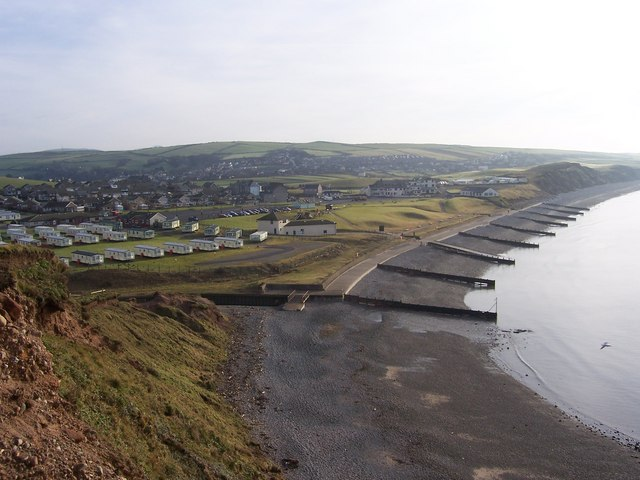 View from South Head St.Bees to St.Bees and Lifeboat Station - geograph.org.uk - 545894