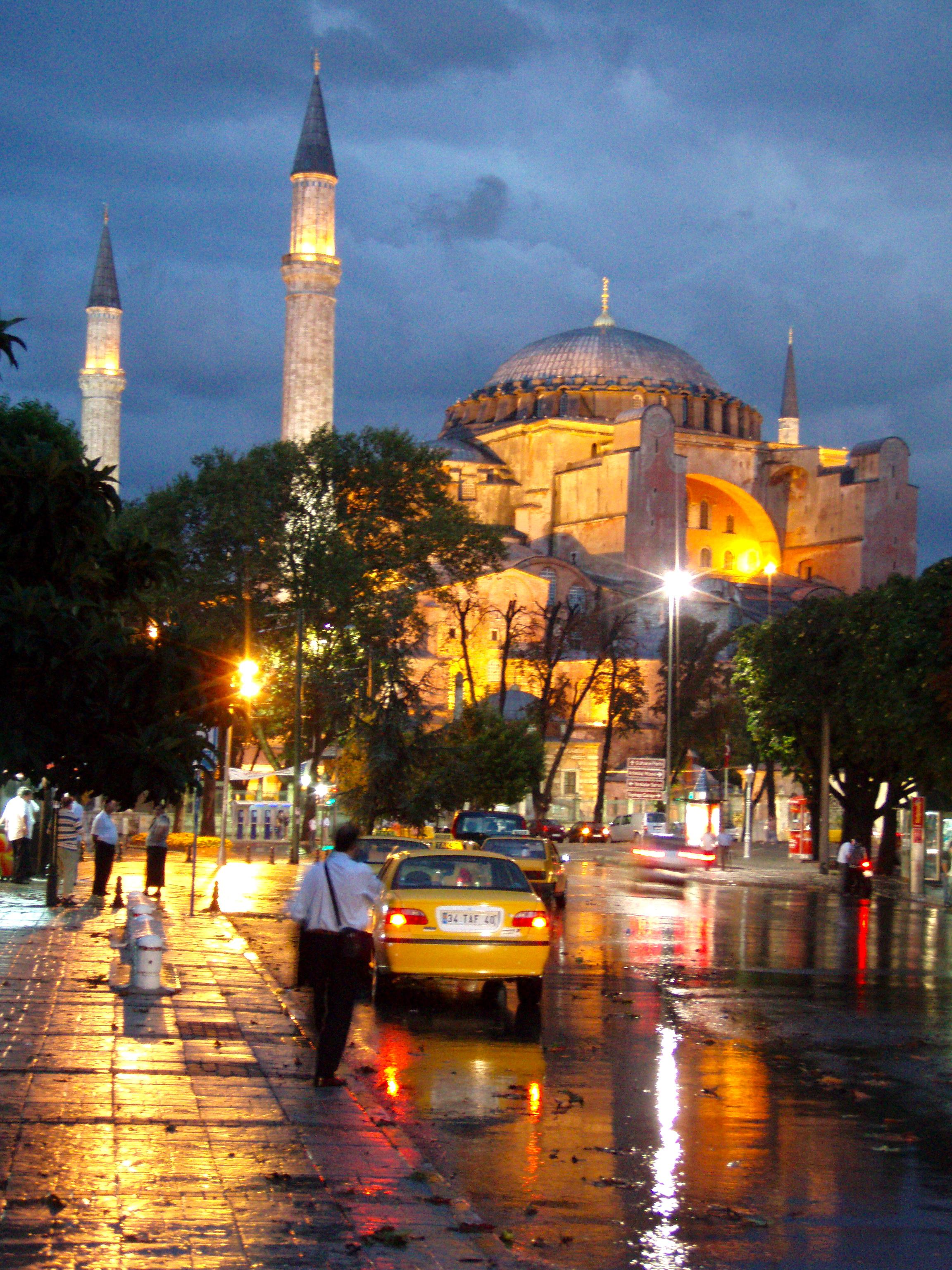 FileView Of The Hagia Sophia Ayasofya At Night