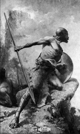 Viriato, obra del pintor español Eugenio Oliva
