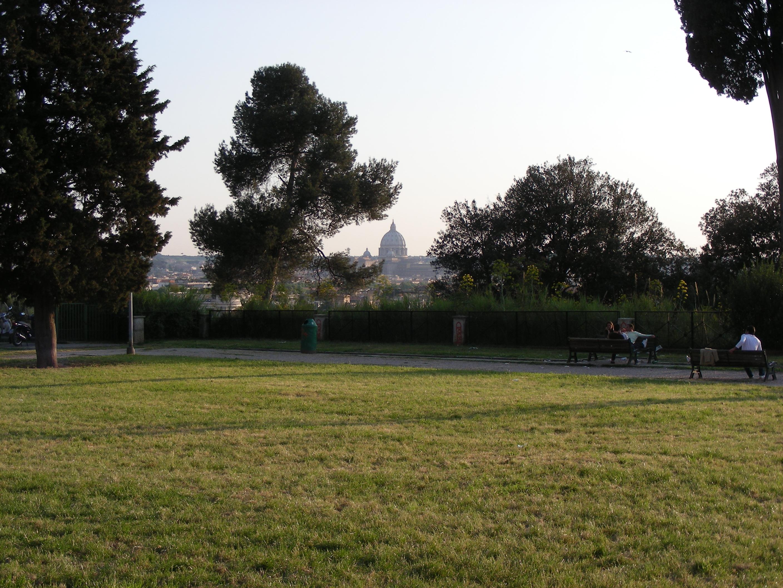 file vue sur rome depuis le jardin de la villa balestra wikimedia commons. Black Bedroom Furniture Sets. Home Design Ideas