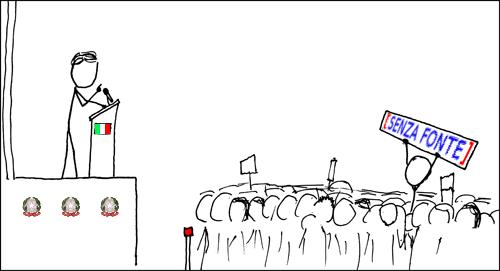 Adattamento di una vignetta di Randall Munroe - da Wikimedia Commons