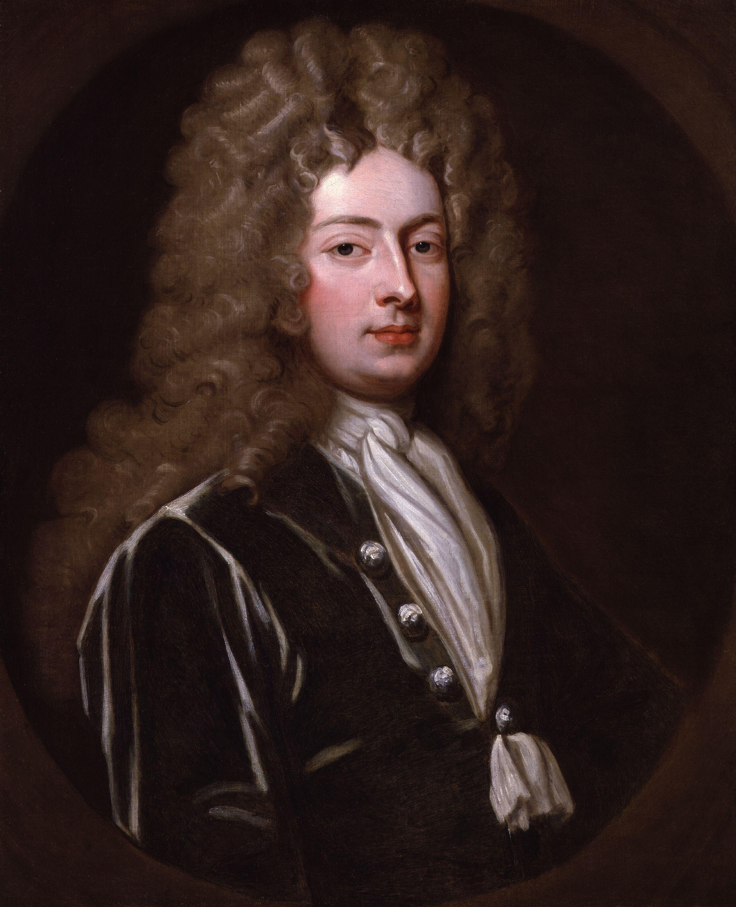 William Congreve in 1709 by [[Godfrey Kneller]]