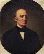 William Lloyd Garrison, founder of the American Anti-Slavery Society