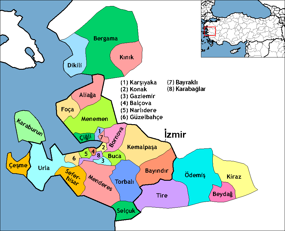 Izmir Provinz Wikipedia