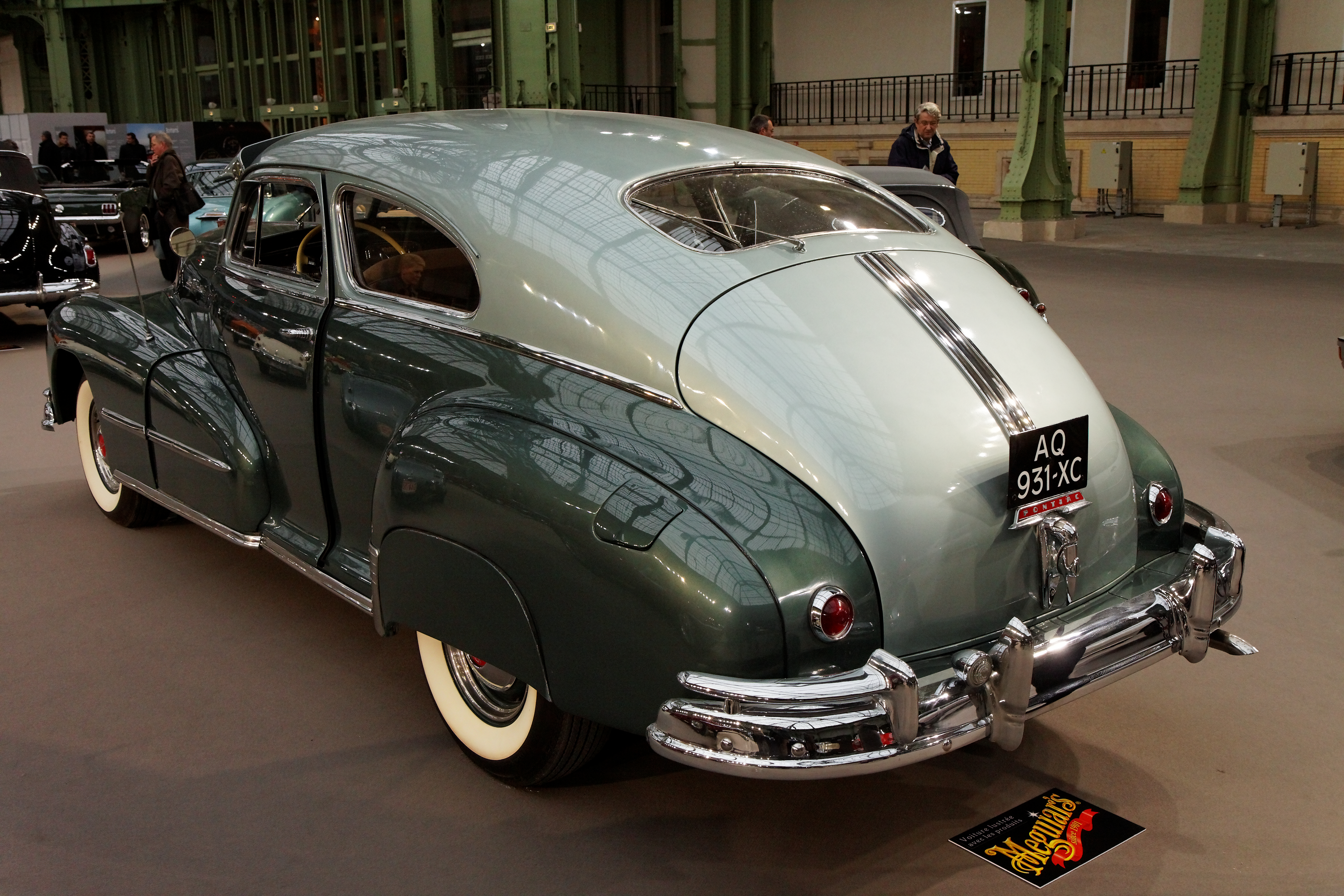 Pontiac Torpedo Wikipedia 1941 Plymouth Deluxe Business Coupe 1948 Eight 2 Door Sedan With View Of Fastback Rear