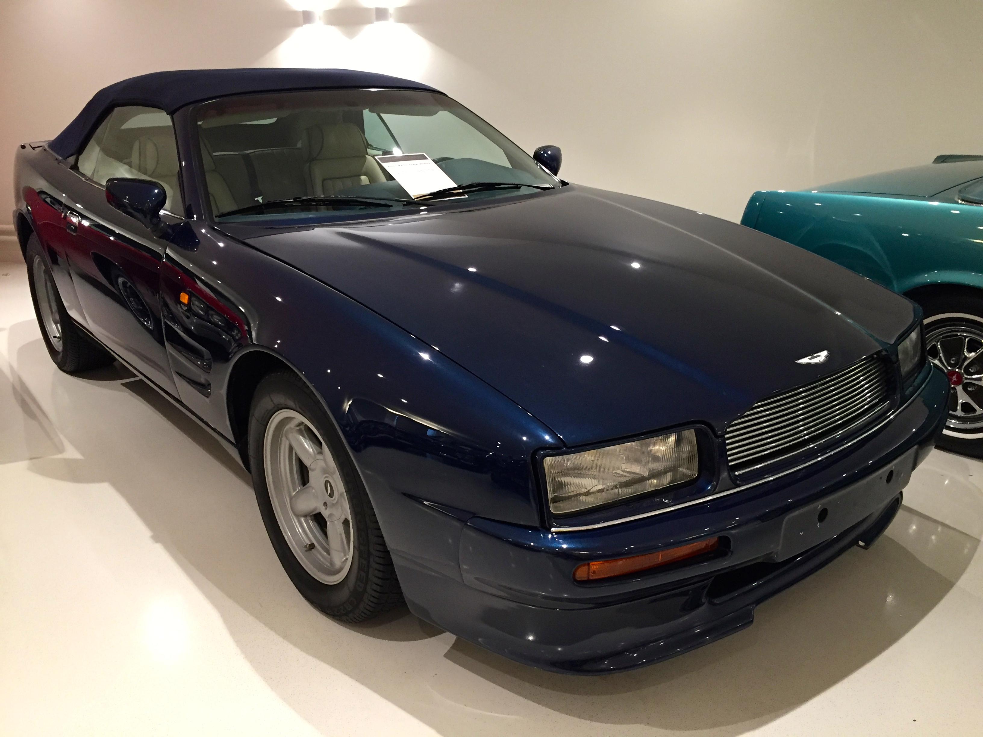 File 1997 Aston Martin Virage Volante 24156840688 Jpg Wikimedia Commons