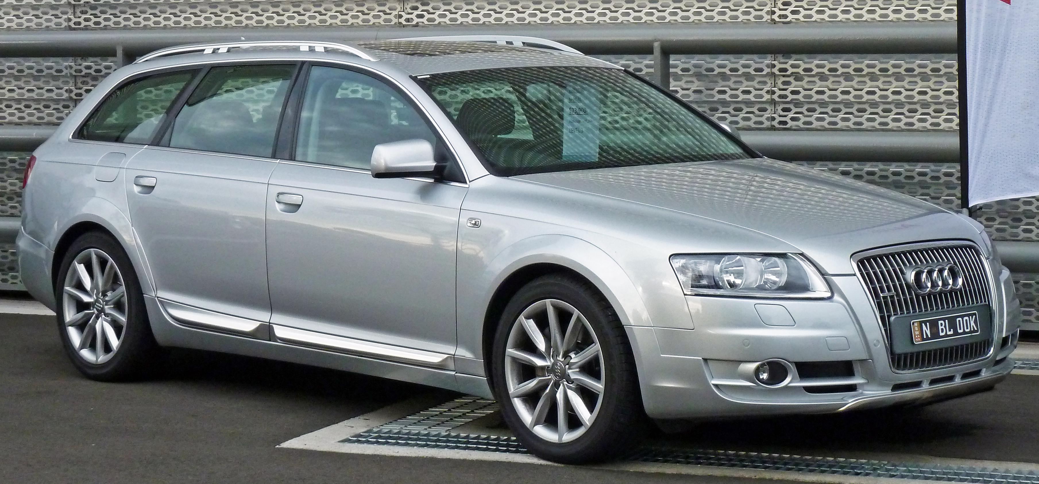 file 2007 audi a6 4f allroad quattro 3 0 tdi station wagon wikimedia commons. Black Bedroom Furniture Sets. Home Design Ideas
