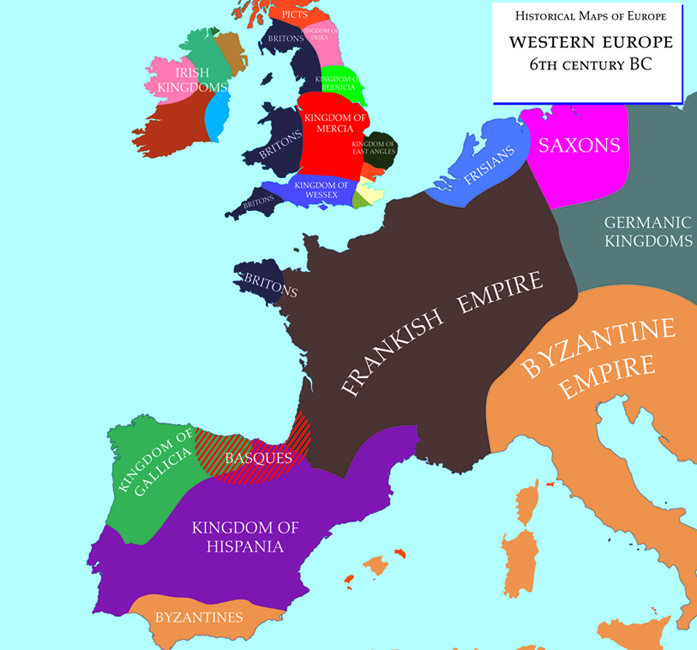 Map Of Europe West.File 6th West Europe Jpg Wikimedia Commons
