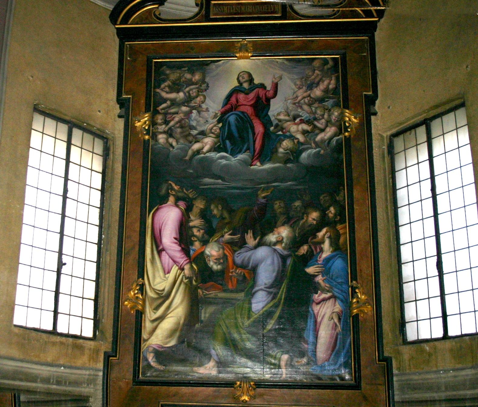Milano S Maria Della Passione Simone Peterzano Assunzione Della Vergine Foto Giovanni Dall Orto C Feb