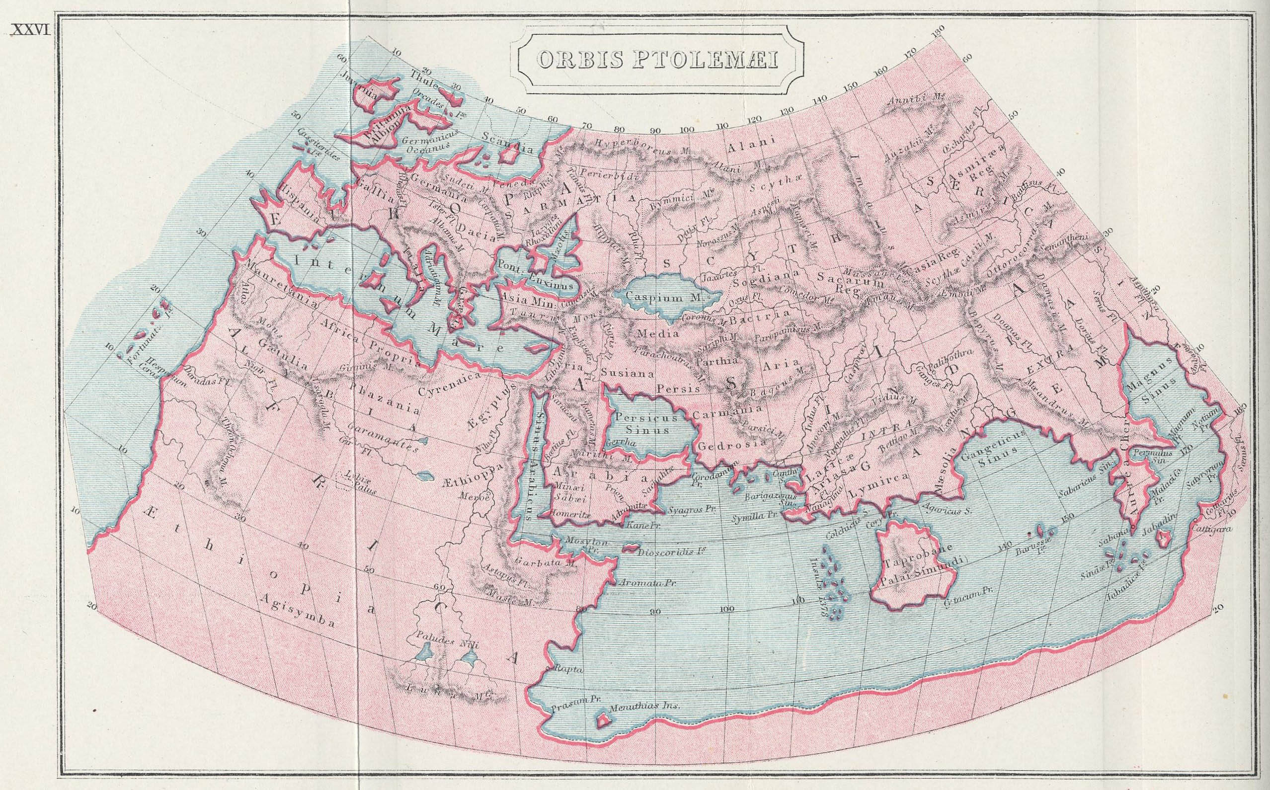 Filea reconstructed overview map of the ptolemaic view of the world filea reconstructed overview map of the ptolemaic view of the world by butler gumiabroncs Gallery