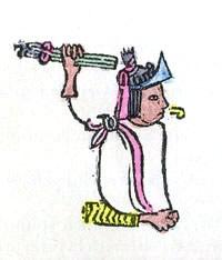 Depiction of Acamapichtli